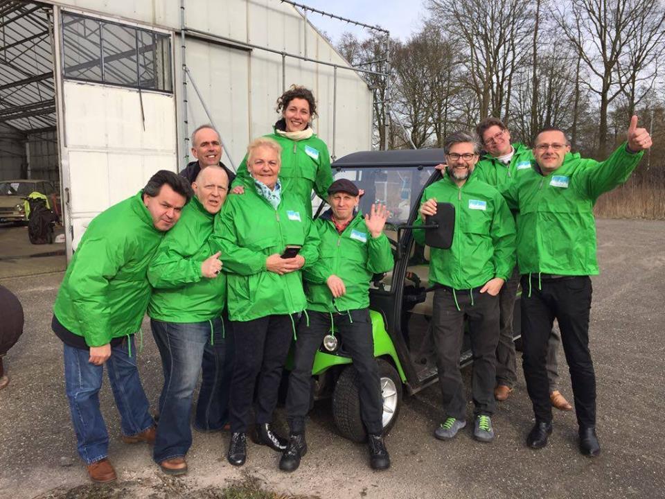 Team groene kikkers